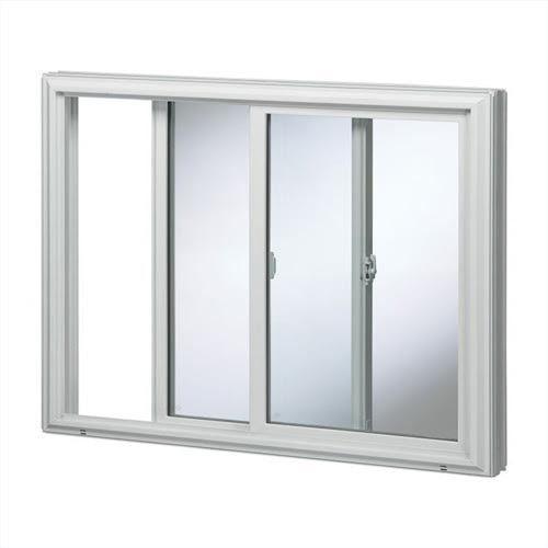 White Aluminium Sliding Window Frame, Rs 350 /square feet, Shree ...