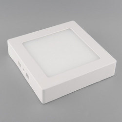 12 Watt Surface Mount LED Square Panel Light