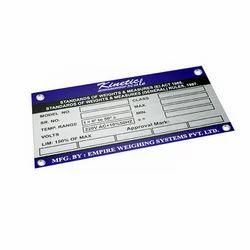 Aluminium Stamping Plates