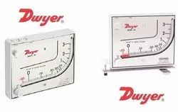 Mark II Model 40-1-AV Dwyer Manometer Range 0-1.1 Inches w.c