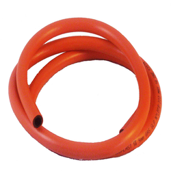 Orange 1.2 M LPG Rubber Hose Pipe, Nominal Size: 8 mm