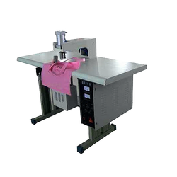 Ultrasonic Single & Double Loop Handle Punch Welding Machine