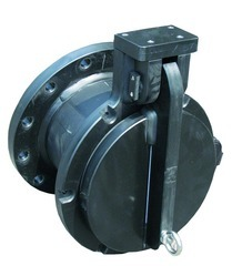 Flap Valve-Slanted Seat for Gravity Lines with Flange
