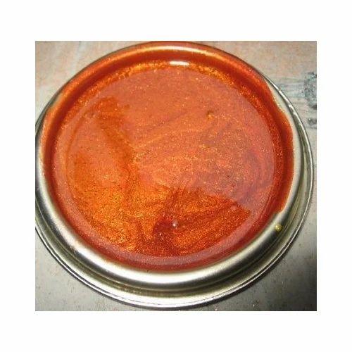Orange Metallic Paint