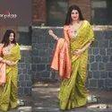 Festive Wear Banarasi Cotton Saree