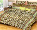 Cotton Double Bed Sheets Printed