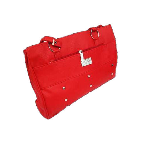 e34d15b18cf4 Leather Ladies Red Handbag, Rs 145 /piece, HumarKART | ID: 20376038188