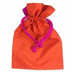 Silk Pouch Bags