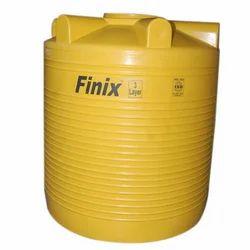 Five Layer Round Plastic Water Storage Tank