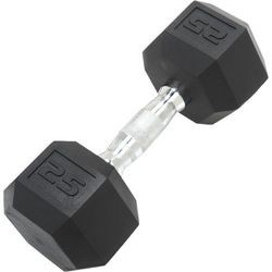 Steel Fixed Weight Chrome Powder Coated Dumbbell, Weight: 5kg-50kg