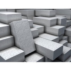 Rectangular Construction Cement Bricks