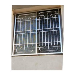 Rectangular Stainless Steel Window