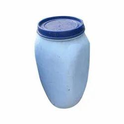 White 35 Liter HDPE Open Top Drum