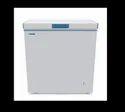 White Chf150 Blue Star Deep Freezer, Capacity: 150l, -24 C To + 8 C