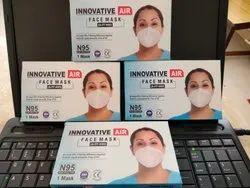 Reusable Innovative Air N 95 Face Mask , 5 Layers, FFP2