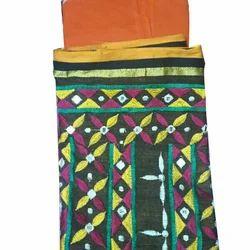 Bengal Ethnic Embroidery Saree