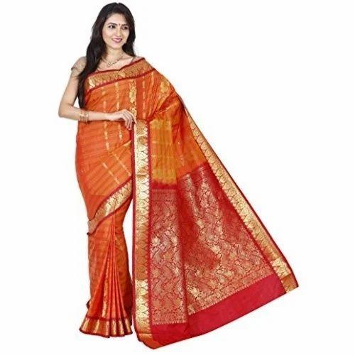 ce950247684 Festive Wear Kanchipuram Silk Saree