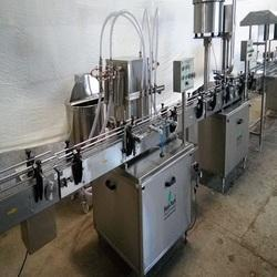 Phenyl Filling Machine