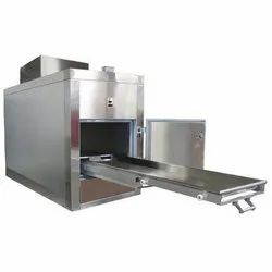 Electric Floor & Wall Mounting Stainless Steel Mortuary Cabinet, Frequency Hz: 50 - 60 Hz