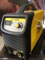 Yellow Single Phase Inverter DC Welding Machine, Automatic Grade: Semi-Automatic, Model: DH20H