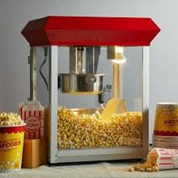 COMERCIAL POPCORNA MAKING MACHINE