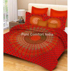 Double Jaipuri Tapestry Bedsheet