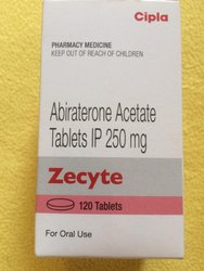 Zecyte Abiraterone 250 Mg Tablets 120 S