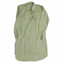Collar Neck Casual Wear Men Green Pathani Kurta