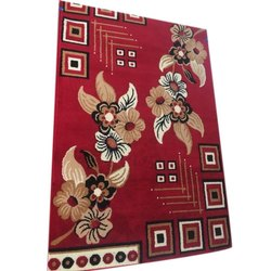 Rectangular Designer Floral Printed Floor Carpets, Size/Dimension: 6x4 feet
