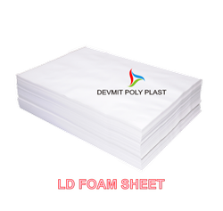 Rectangle White Foam Sheet For Offset Printing, Thickness: 500