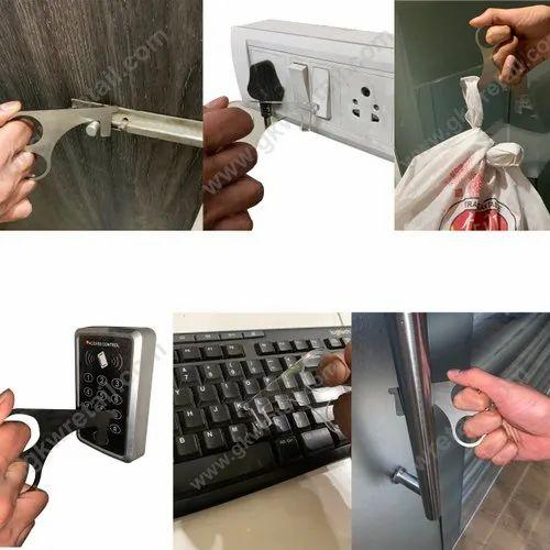 Portable No Touch Door Opener Elevator & Handle Key