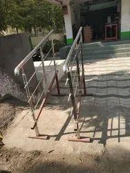 Jindal Pipe Stairs Stainless steel Railings
