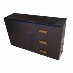 Brown Wooden Cabinet, for Storage, Melamine