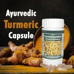 Ayurvedic Turmeric Capsule - Turmerichills for Medical