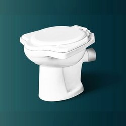 Pebbles Insignia Closed Front Anglo Indian Toilet Commode, for Bathroom Fitting