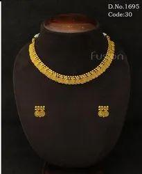 Traditional Antique Delicate Necklace Set