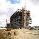 Concrete Frame Structures Malls Construction Services, Waterproofing System