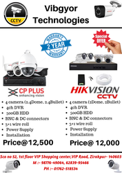 Hikvision HD Best CCTV Cameras Special Offer, 15 to 20 m