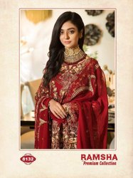 Ladies Suit Ramsha Premium Collection by Shree Fab