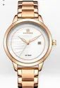 Naviforce Rose Gold Watches For Women Quartz Wristwatches Nf5008/available In 4 Colors.