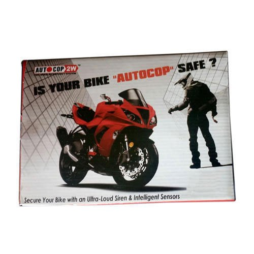 Auto Cop Security System Bike & X-100 Super Auto Key