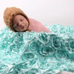 969c8748697254 Babymoon 3D Rose Floral Beanbag Blanket Backdrop Rug-Beautiful Photoshoot  Baby Photography Prop