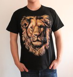 669e9e16 Female Lion 3D T Shirt, Rs 220 /piece, Sudarshaan Impex | ID ...