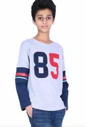 Boy Blue and White T-shirt