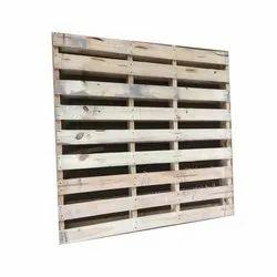 Rectangular Wooden Hardwood Pallet