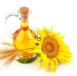 Liquid pharmaceutical grade Sunflower Oil (cold pressed), Packaging Type: HDPE Drums, Low Cholestrol
