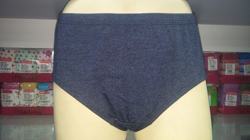 3 Colors Stylish Plain Panties, Size: Medium And XL