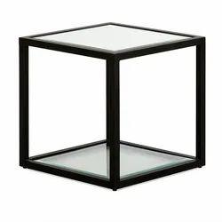 Square IAAH Maddox Glass Coffee Table