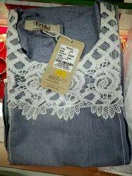 Ladies A-Line Cotton Kurti