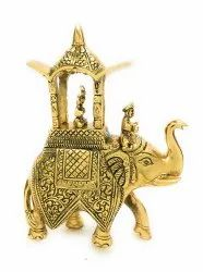 Gold Plated Ambabari Elephant